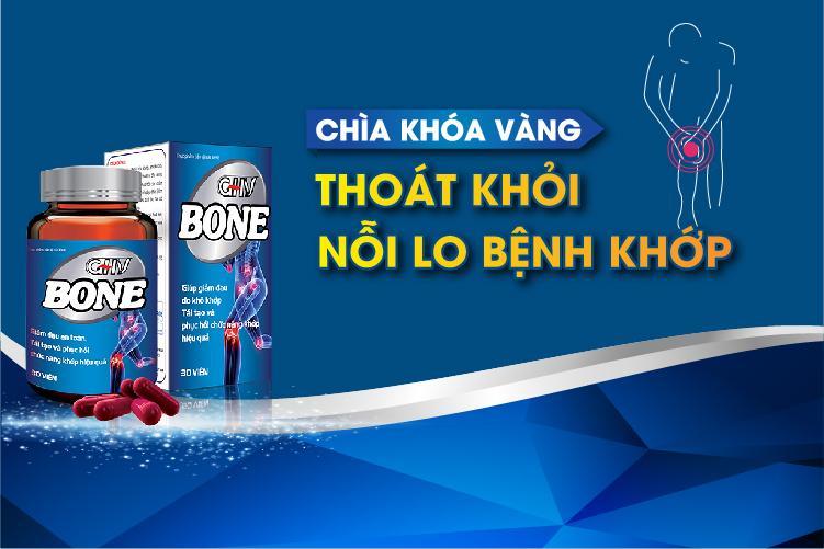 GHV BONE - Chìa khóa thoát khỏi nỗi lo bệnh khớp