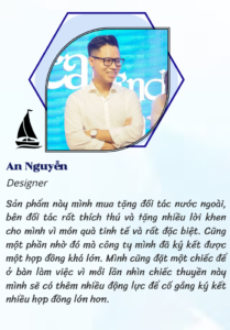 Review của anh An Nguyễn