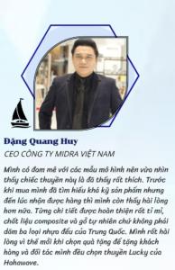 Review của anh Đặng Quang Huy