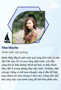 Review của chị Thu Huyền
