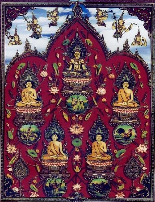 Bùa Năm Ông Phật Xiêm : Cách luyện bùa – bí mật cấm kị của các pháp sư